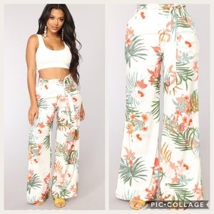 Floral trousers (brand new) never worn